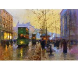 La Madeleine, Twilight