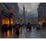 Place Vendome in the Rain