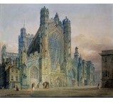 The West Front of Bath Abbey