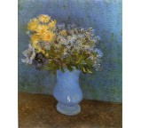Vase with Lilacs, Daisies and