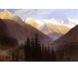 Sunrise at Glacier Station