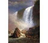 Falls of Niagara from Below