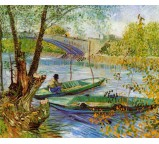 Fishing in the Spring - Pont de