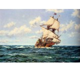 Mayflower II on the Open Seas