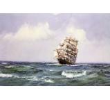 The Ship Lightning Making Landfall in