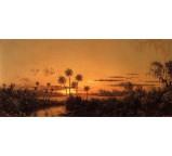 Florida River Scene - Early