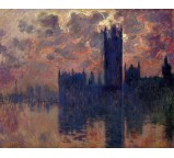 Houses of Parliament, Sunset 3