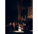 Le Christ Et La Femme Adultere,londres Ng 1644