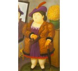 Woman With a Fur Coat 1990