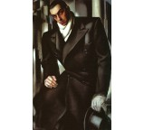 Portrait of Man in Overcoat