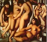 Women at the Bath