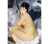 Nude Seated on a Sofa